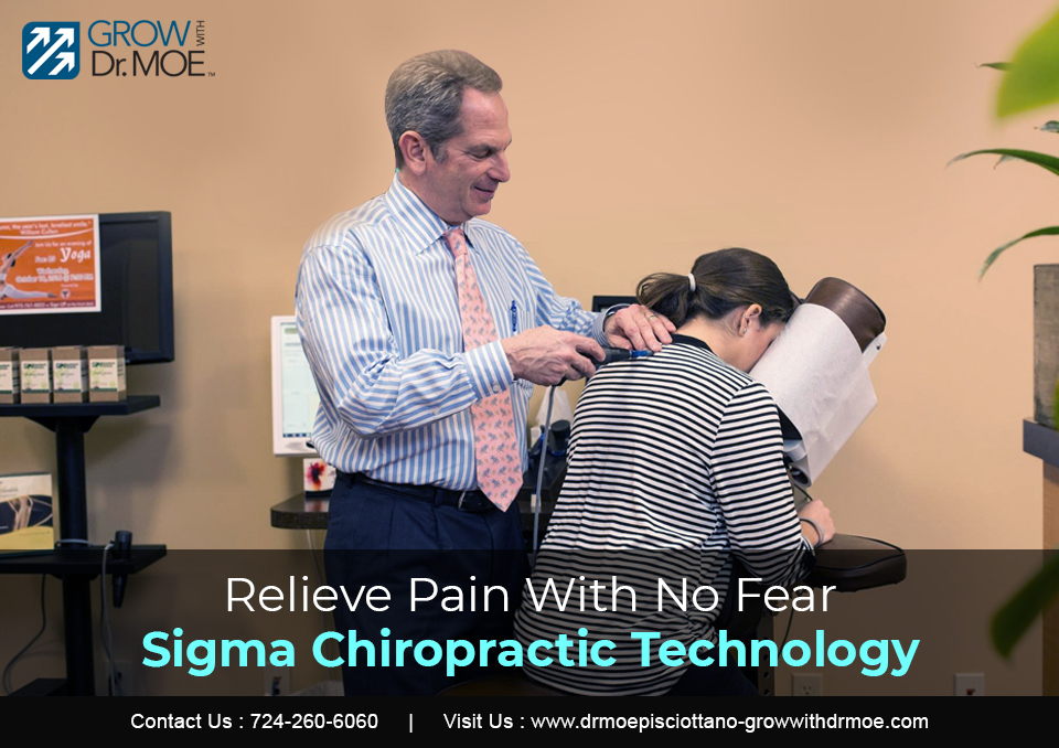 Relieve Pain With No Fear Sigma Chiropractic Technology