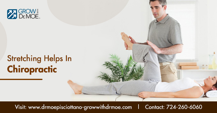 Stretching Helps in Chiropractic Treatment